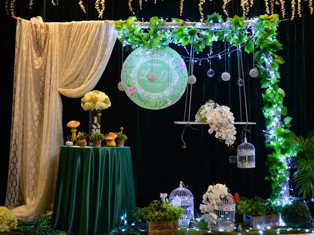 阳光森系主题婚礼,听说有个地方开满了鲜花,候鸟永远不去南方