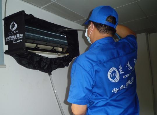 深圳空调清洗-爱洁家公司空调清洗方法介绍