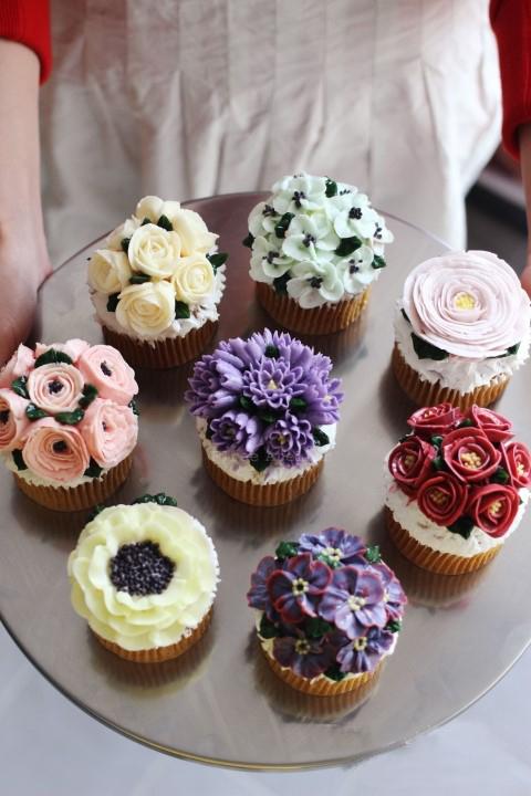 三,十二生肖动物造型,各色植物,春夏秋冬季花朵裱花装饰要领.