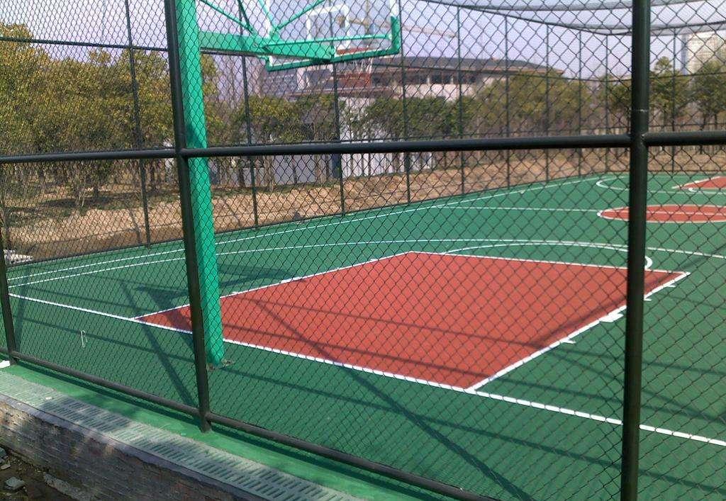 球场围网 场地防护网 篮球场护栏网 操场围栏