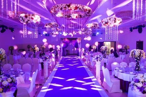 银川专业婚礼会场布置酒店为您策划一场难忘的婚礼庆典图片