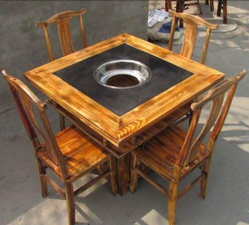 惠州炭烧火锅桌