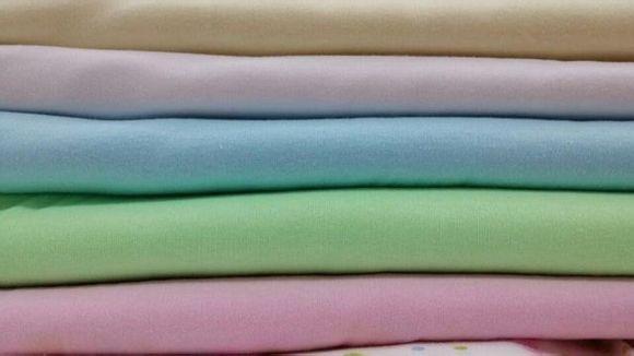 台州布料批发保暖布料针织布料双面纱布宝宝服装面料