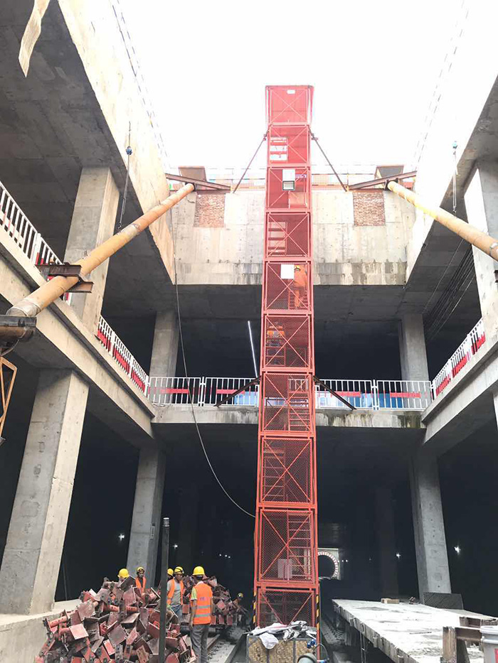 河南漯河市箱式爬梯,建筑梯笼销售厂家
