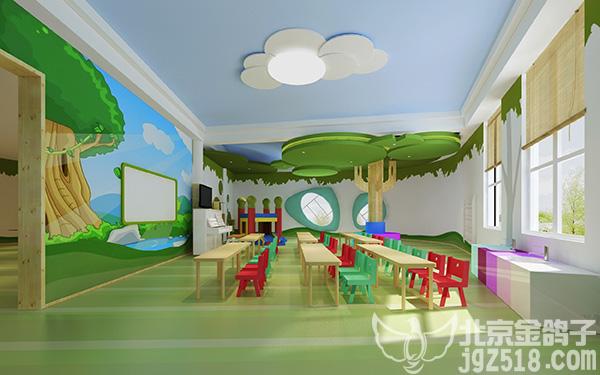 山东青岛幼儿园装修设计,儿童房室内设计原则