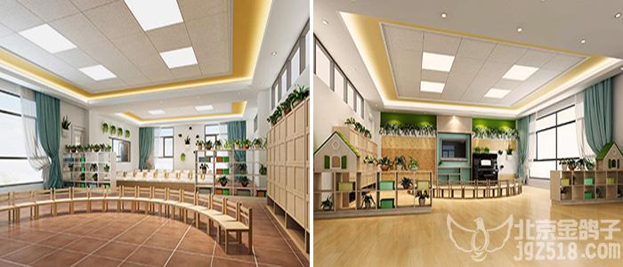 创造性的运用幼儿园整体装饰设计理念,将幼儿园的建筑,景观,活动场地