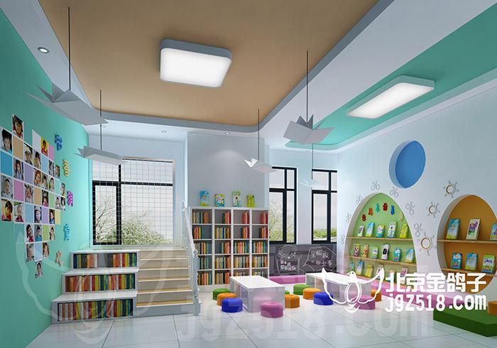 高素质的专业施工队伍和雄厚的技术力量使得金鸽子装饰设计的品质有口皆碑。而独特、个性化的设计理念,高雅的设计品味,更令消费者推崇不已。我们相信,充满灵性的创新和精湛的施工技术必使金鸽子装饰设计创造出更加辉煌的成绩。 北京幼儿园环境设计 目前的幼儿园装修设计,早期的粗放式装修设计理念早已经退出了历史的舞台,取而代之的是精细化、专业化、品牌化的幼儿园装修设计。从标准角度来说,从幼儿园空间的安全性、功能教室区域规划的合理性、再到幼儿环境体验的互动性,都提出了更高的要求与挑战,在这种环境下,坚持个性、科学和美观的