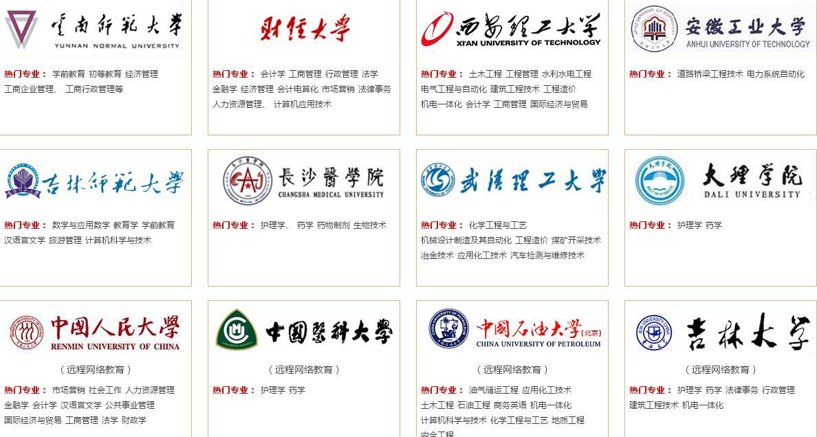 2016年云南成人高考什么时候报名?