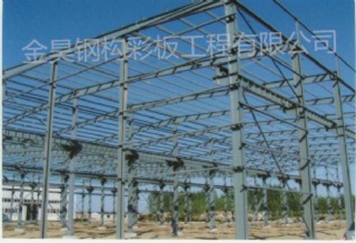 内蒙古包头钢结构 钢构 彩钢房优质选择金昊钢构