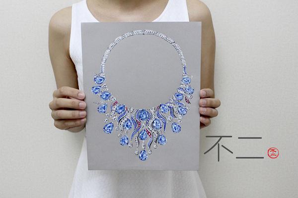 上海闸北珠宝设计手绘专业教学课程,您的不二之选