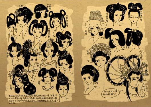 古风手绘仙女子图片