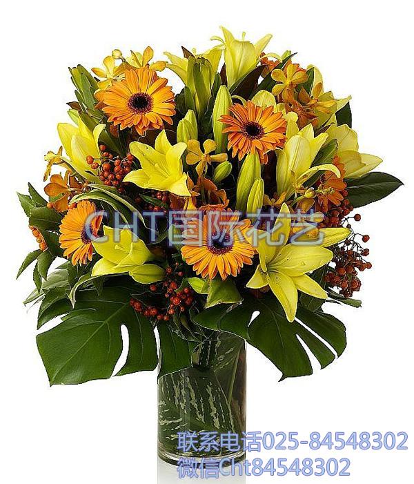 CHT国际花艺的鲜花礼盒可以顺丰快递到江浙沪了