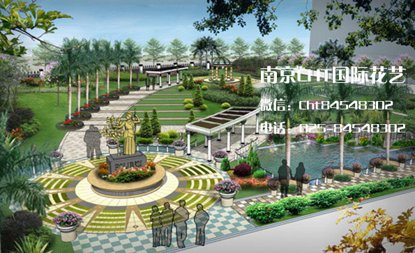 学校园林景观设计