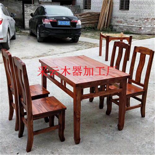 广西农庄炭烧餐椅厂-精选上等实木原料-制造餐椅