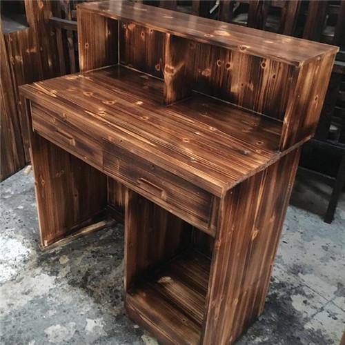 温州炭烧木桌椅厂-高端定制-实木炭烧产品