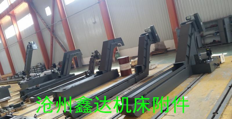 机床工业基地沧州鑫达专业生产螺旋式排屑机厂