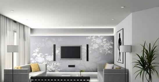 灰色墙面漆颜色效果图