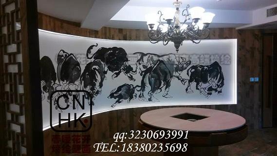 成都火锅店特色小资情调墙绘手绘壁画多少钱一平米?