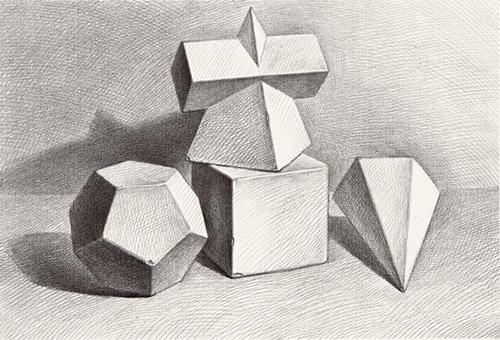 如何解决素描石膏几何体常见的