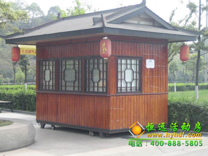 木质售货亭_木质售货亭能使用多久?