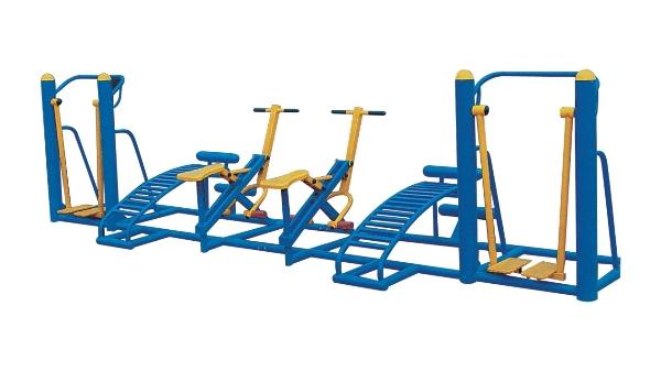 公园健身器材几种使用方法,你了