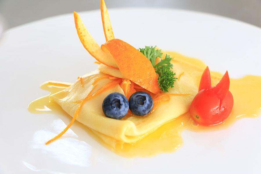 高级厨师美食细节素材