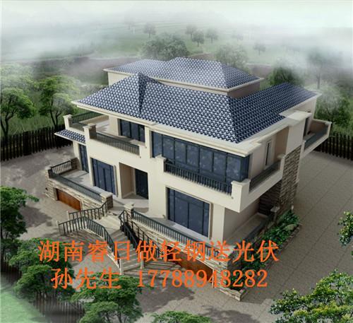 长沙邯郸二百平米轻钢别墅日租和砖混造价对比价格别墅湖南图片