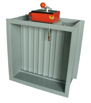 防火阀,常开,70度关闭,一般安装在风管穿越防火墙处,起火灾关断作用图片
