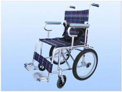 2,铝合金小轮椅,净重7kg,最大可承重70kg,可以折叠,可随意带上飞机
