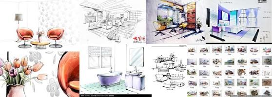 南京培训室内手绘效果图