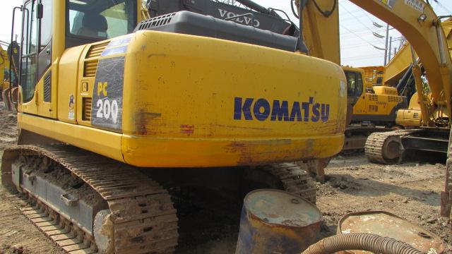 出售小松200-8二手挖掘机,上海晨阳二手挖掘机