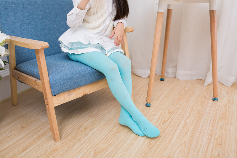 女儿怎么穿好看,当然是儿童连裤袜