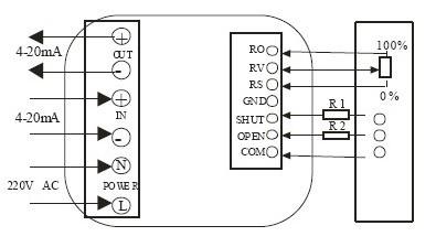 220v电动蝶阀接线图 电动蝶阀说明书 电动蝶阀工作
