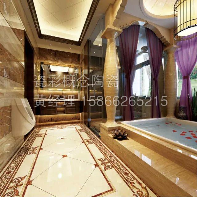 客厅走廊瓷砖图片冠珠客厅瓷砖图片15