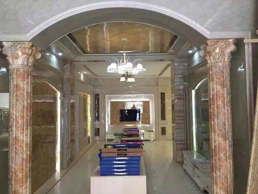 纳米罗马柱 背景墙罗马柱 影视墙罗马柱 罗马柱造型 黄经理
