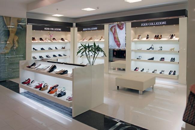 苏州比较好的鞋柜专卖店设计装修厂家