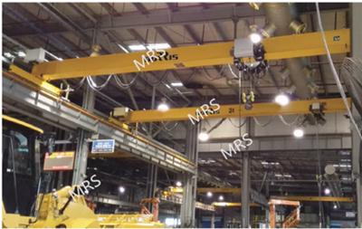 分类广告  电动葫芦双梁桥式起重机 摩睿斯欧式起重机设计紧凑,自重轻