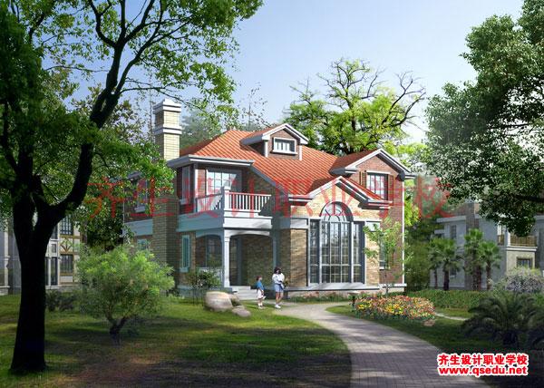 想自己设计一个楼顶花园,自学景观设计能学懂不