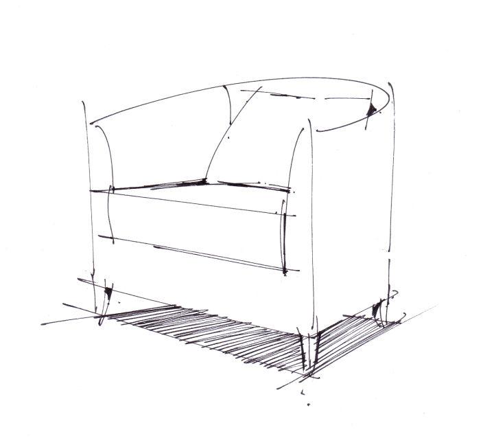 昆明学手绘如何画好室内设计中的单体家具