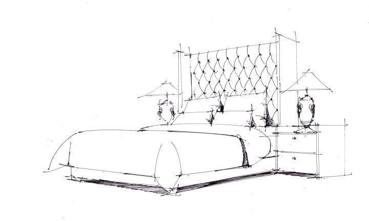 卓越手绘教你用马克笔画好室内手绘的单体家具