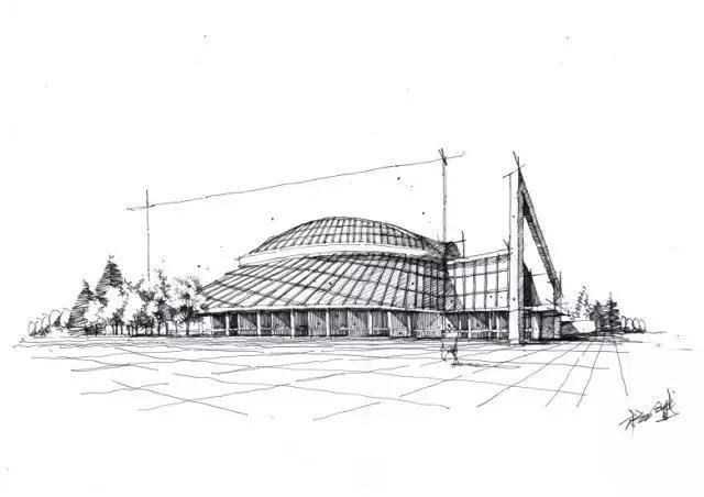 从卓越手绘基础到天津大学建筑考研快题高分的历经过程