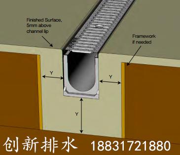 u型树脂混凝土排水沟安装效果和原理