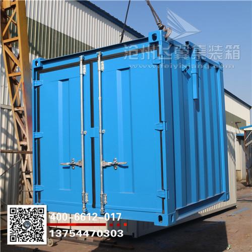 飞翼专业定做小型室外集装箱工具房吊装便利空间大