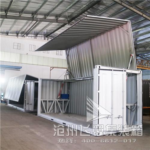 40尺特种集装箱开顶集装箱生产厂家飞翼按需设计