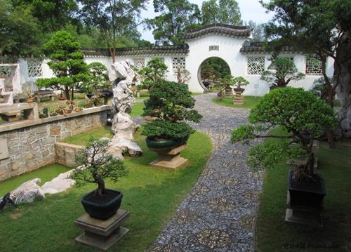 南京别墅园林景观设计施工蓬莱苑别墅图片