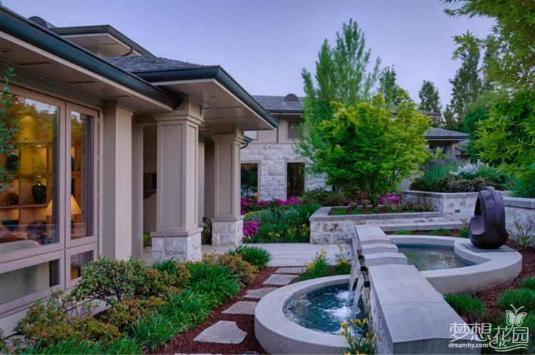 专业做园林景观设计,别墅私家花园设计,屋顶花园设计,木结构工程,小区