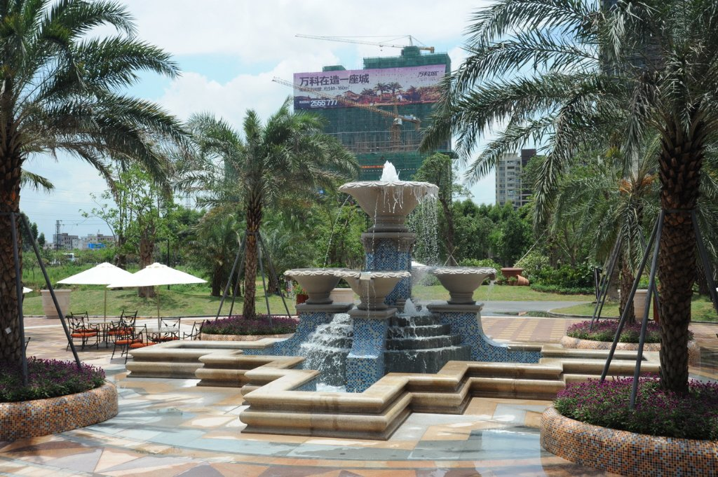 镇江小区喷泉水景设计图片