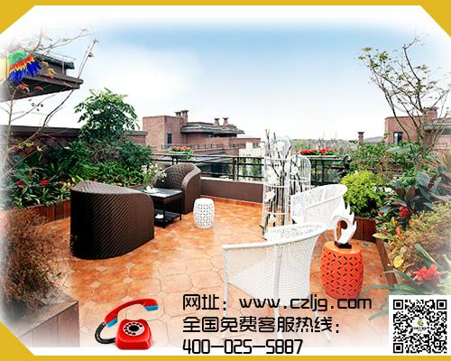 無錫別墅樓頂花園設計如何進行綠化?