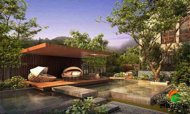 在南京私家庭院设计与施工中怎么制作木栅栏