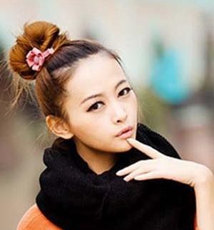 【成都专业化妆培训】无刘海发型扎法